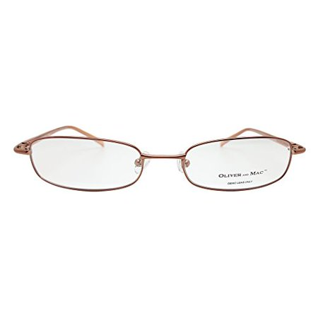 oliver and mac andover eyeglasses prescription frames brown 52 19 140