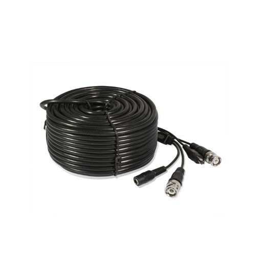 165ft AWG22 Premade Siamese CCTV Video + Power Cable