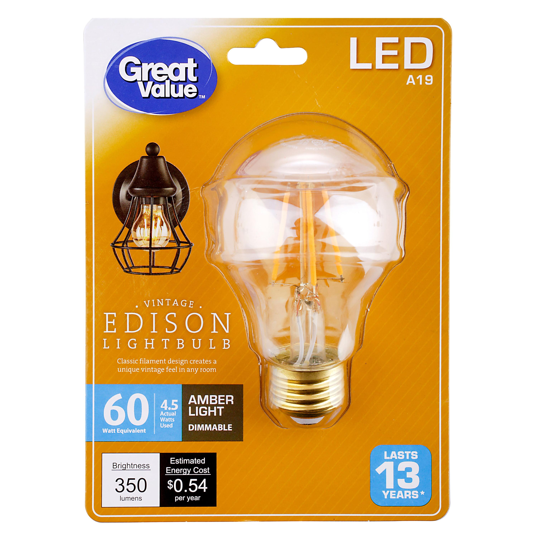 Vintage Edison Lightbulb