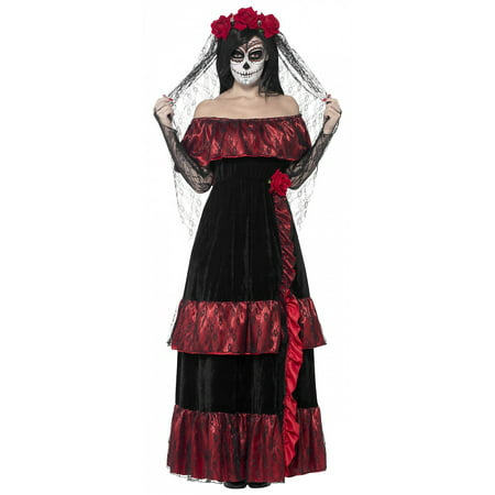 Dead Bride Costumes For Kids (Day of the Dead Bride Adult Costume -)