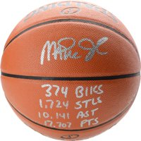 Magic Johnson Los Angeles Lakers Autographed Spalding Indoor/Outdoor Basketball with Multiple Inscriptions - Limited Edition of 32 - Fanatics Authentic Certified