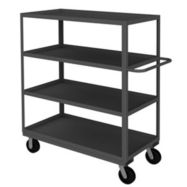 Durham RSC-244860-4-3K-95 60 in. Rolling Service Cart, Gray - 3000 lbs