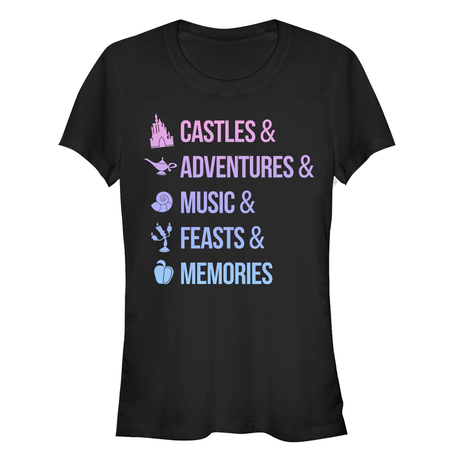 Disney Princesses Juniors' Princess Keywords T-Shirt