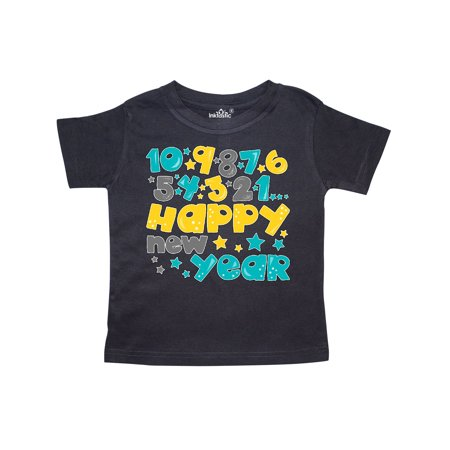6f22a43b1 Inktastic - Happy New Year Countdown Toddler T-Shirt - Walmart.com