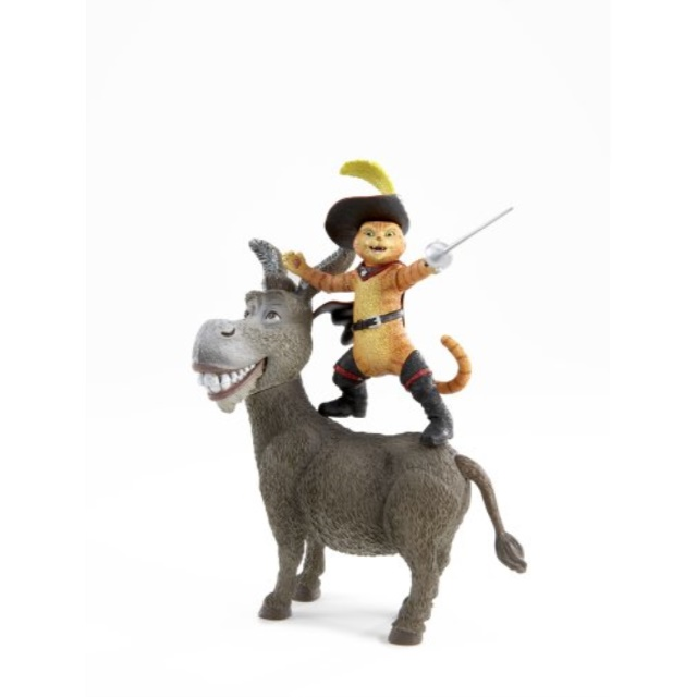 Shrek Movie Action Figure Donkey Puss N Boots Walmart Com Walmart Com