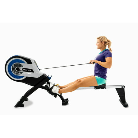 XTERRA Fitness ERG500 Advanced Air Turbine Rower with 8 Resistance