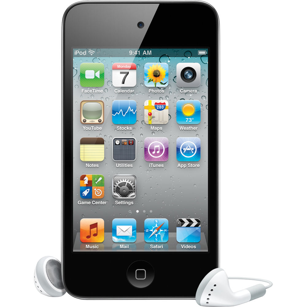 Refurbished Apple iPod Touch 4th Gen 16GB WiFi MP4 MP3 Digital Music Video Player ME178LL/A