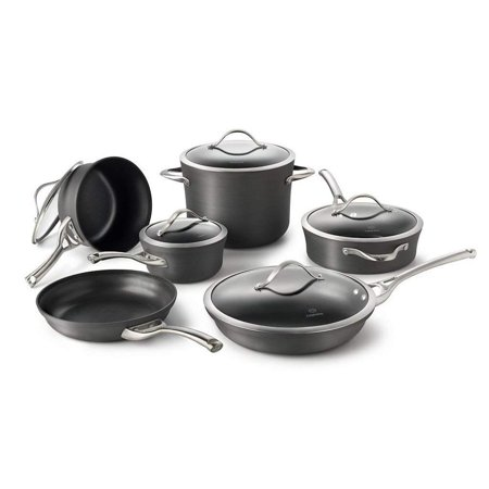calphalon contemporary 11-pc. hard-anodized nonstick cookware (Simply Calphalon Hard Anodized Nonstick 10 Pc Cookware)