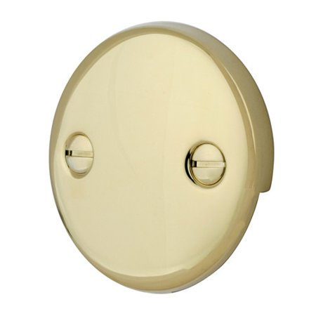 Kingston Brass Made To Match Trip Lever 2 Hole Round Plate