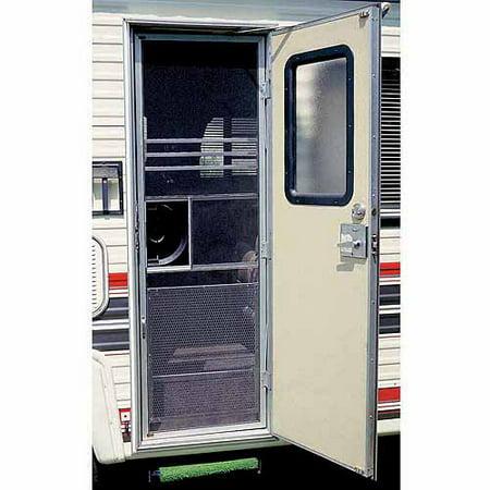 Camco Screen Door Standard Grille, Aluminum ()