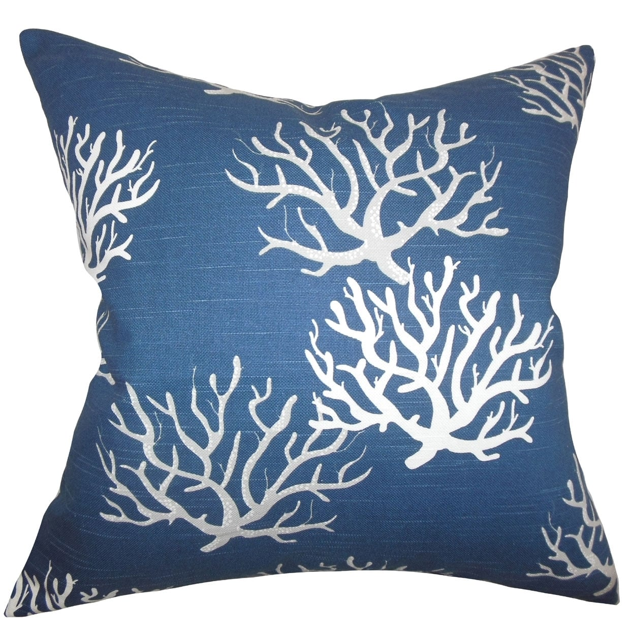 The Pillow Collection Paegna Ikat Throw Pillow