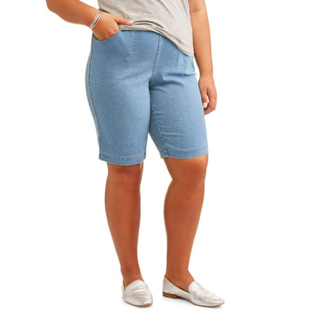 Women's Plus Size 4 Pkt Bermuda Short