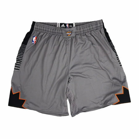Phoenix Suns NBA Adidas Grey Authentic On-Court Pride Climalite Game Shorts For Men