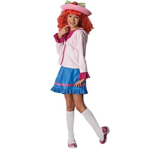 Toddler And Child Strawberry Shortcake Costume Small