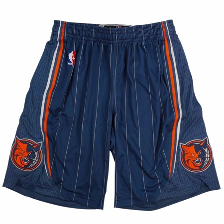 Charlotte Bobcats NBA Adidas Blue Authentic On-Court Climacool Team Game Shorts For Men (Charolette Bobcats)