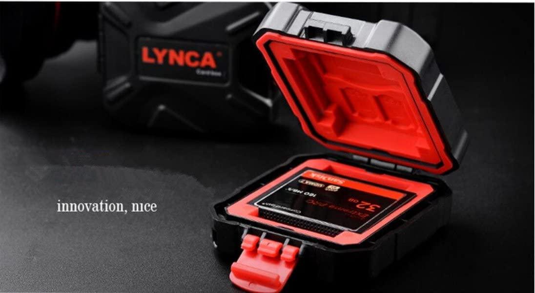 for 9 Slots LXH//LYNCA Memory Card Case Holder Box SD//CF//MSD//XQD//TF//SDHC SDXC Micro SD Card Storage Box Camera Cartridge Waterproof and Anti-dust Box for 3 SD /& 2 CF /& 2 TF /& 2 XQD