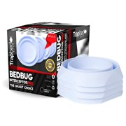 Best Bug Powders - Bed Bug Insect Interceptor 4 PACK White. Revolutionary Review