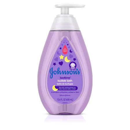 (2 Pack) Johnsonâs Bedtime Baby Bubble Bath with Calming Aromas, 13.6 fl. oz ()