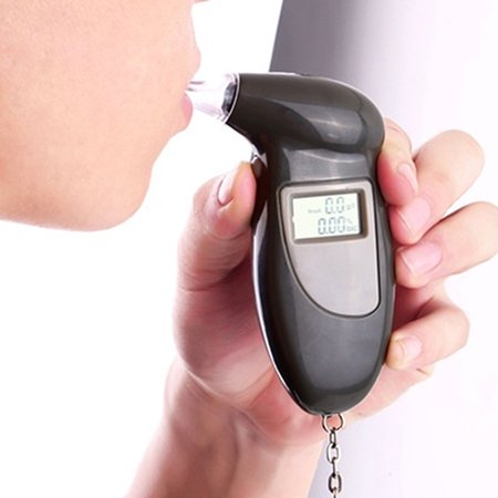 Girl12Queen Portable Digital LCD Breath Alcohol Breathalyzer Analyser Tester Test - Breathalyzer Test Costume