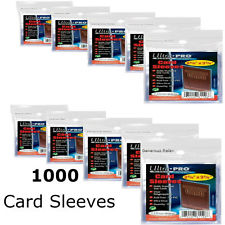 Ultra Pro Card Premium Card Sleeves Pack 100 Sleeves
