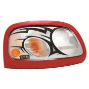 GT Styling 968077 Pro-Beam Headlight Cover; Tribal;