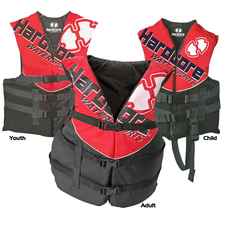 Life Jacket Vests For The Entire Family (ONE VEST INCLUDED) - US Coast Guard approved Type III