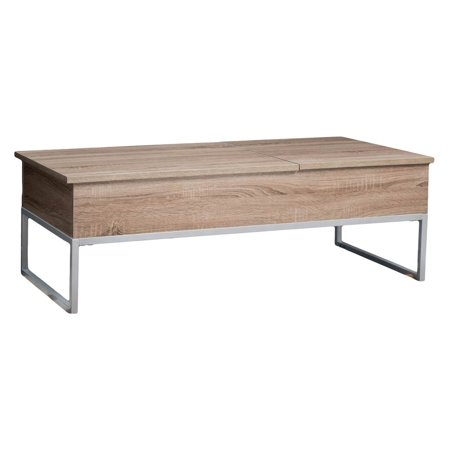 Functional Coffee Table (Lift Functional Coffee Table in Dark Sonoma Finish )