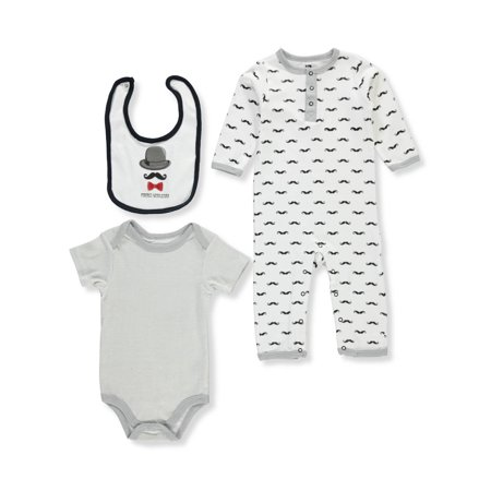 94ab4a022 Hudson Baby - Hudson Baby Baby Boys  3-Piece Set - Walmart.com