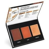2 Pack - Black Radiance True Complexion Contour Palette, Medium to Dark 0.38 oz