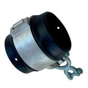 Jensen SH126 Commercial 3.5 in. O.D. Non Wrap Pipe Swing Hanger with Shackle Pendulum