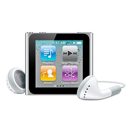 Apple iPod Nano 6th Generation 8GB Silver Like New- No Retail Packaging! ()