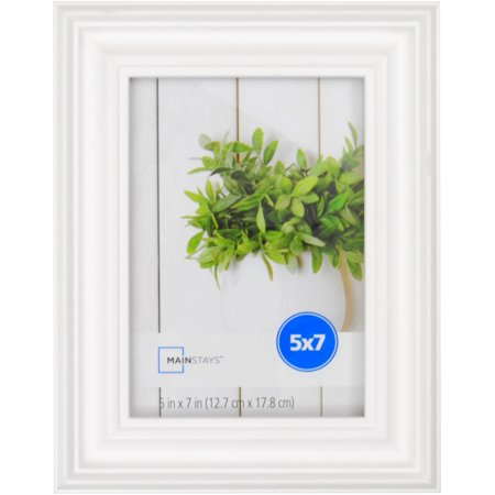 Ms 5x7 Traditional White Picture Frame Walmartcom
