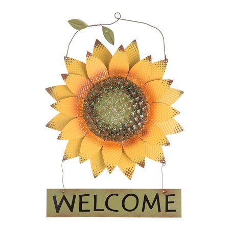 Angel Welcome Sign (Sunflower Welcome Sign: Metal, 18)