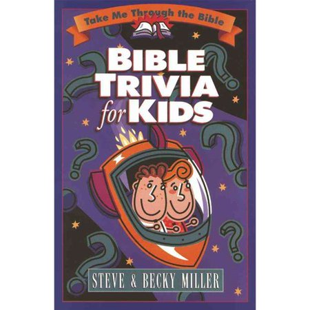 Bible Trivia for Kids by