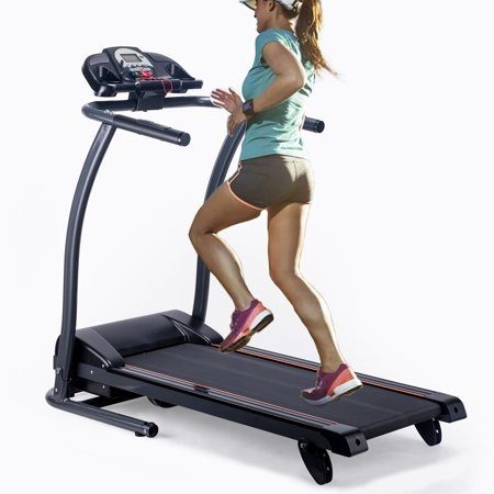 Motorized Treadmill Fitness Health Running Machine Equipment for Home Foldable & Incline 43.3