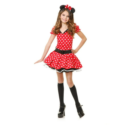 Halloween Miss Mouse Child Costume