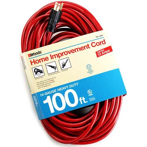 100ft Medium Duty Outdoor Cord