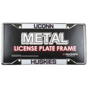 """Uconn Huskies """"huskies"""" Metal License Plate Frame"""