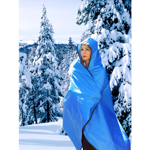 Grabber Hooded All-Weather Blanket/Poncho, Assorted Colors