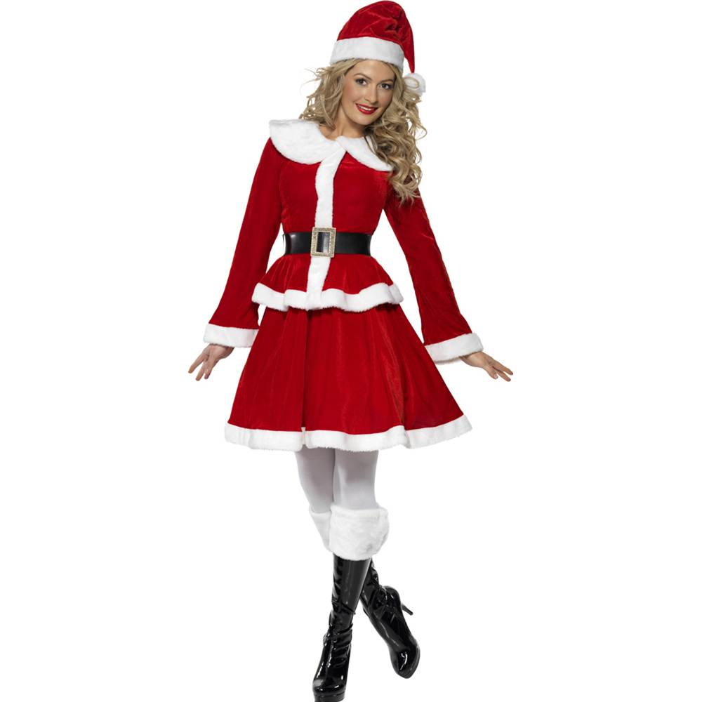 Miss Santa Skirt Suit Adult Costume