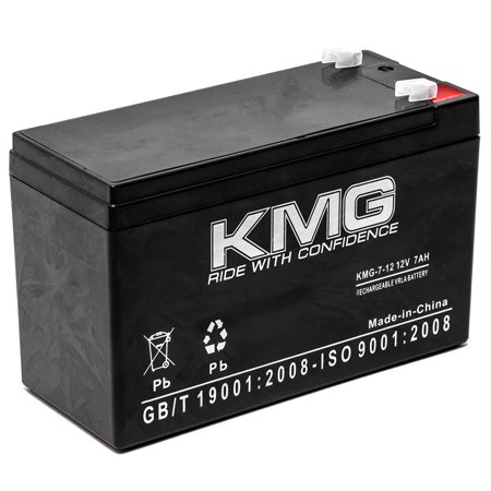 KMG 12V 7Ah Replacement Battery for Best Technologies SPS450 SPS450VA - image 3 de 3
