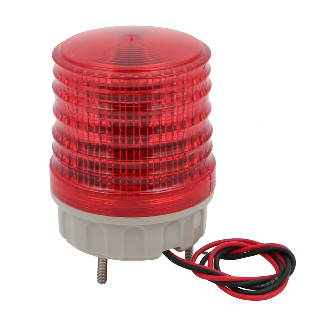 DC 12V Buzzer Sound Rotating Industrial Signal Tower Warning Light Red TB-5051