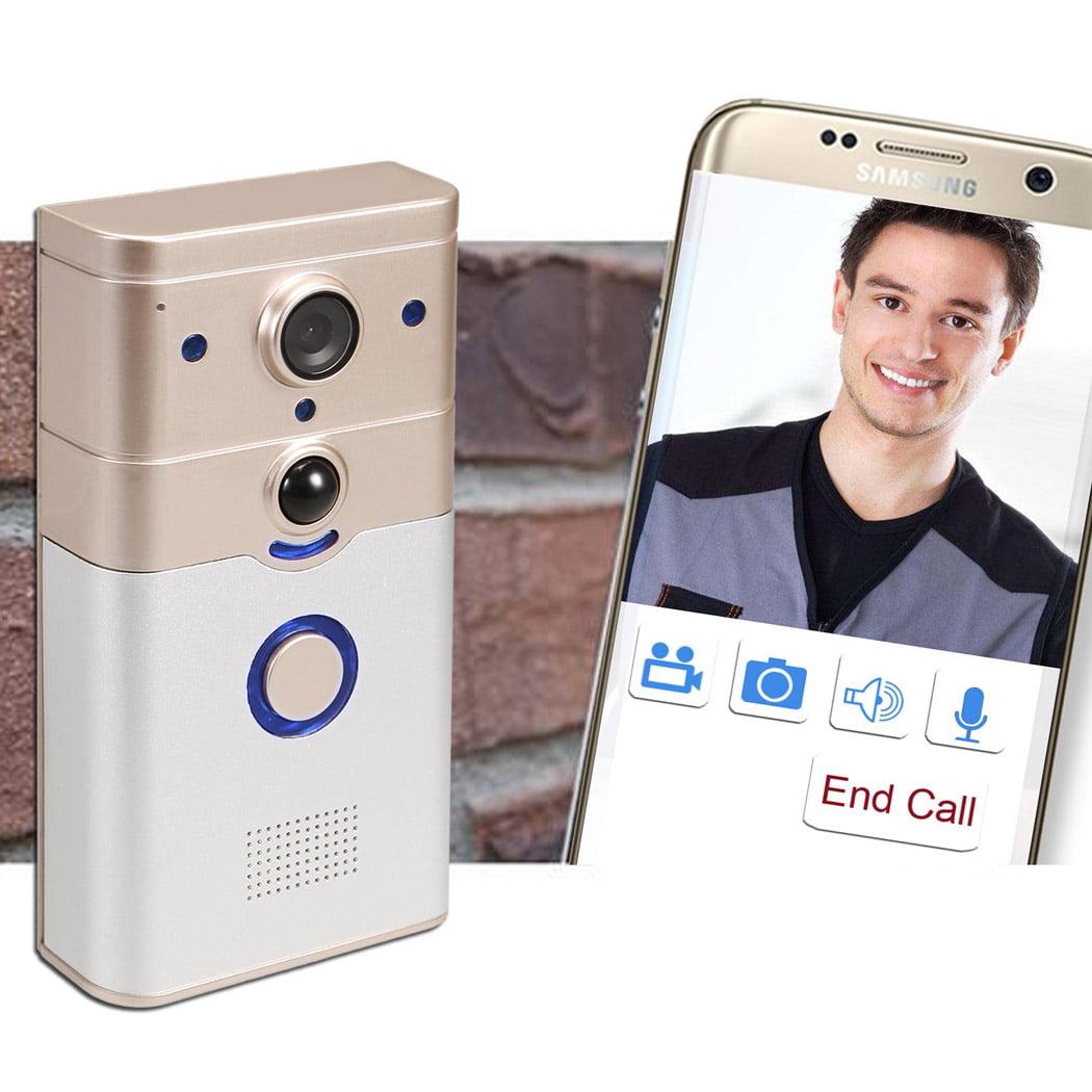 WI-Fi Smart Doorbell WiFi-Enabled Video Doorbell Visual Intercom Camera Monitor BTC