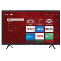 "TCL 40"" Class FHD (1080P) Roku Smart LED TV (40S325)"