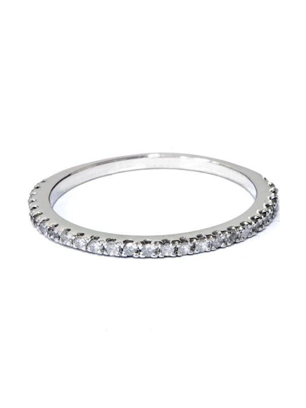 15 ct Diamond Wedding Ring White Gold Stackable Band Walmartcom
