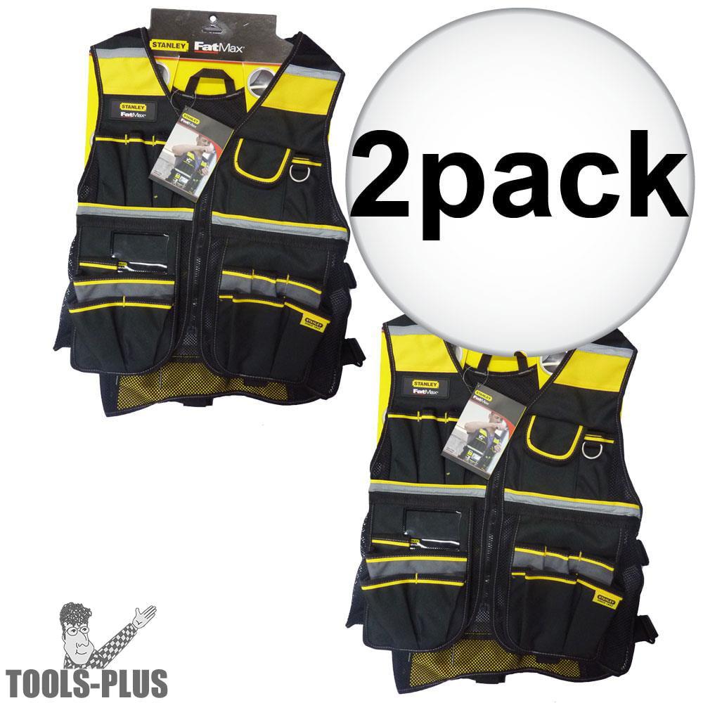 Stanley Orange Safety Vest with Reflective Strips RST-60003