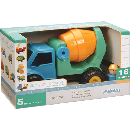 Battat Cement Truck Play Set