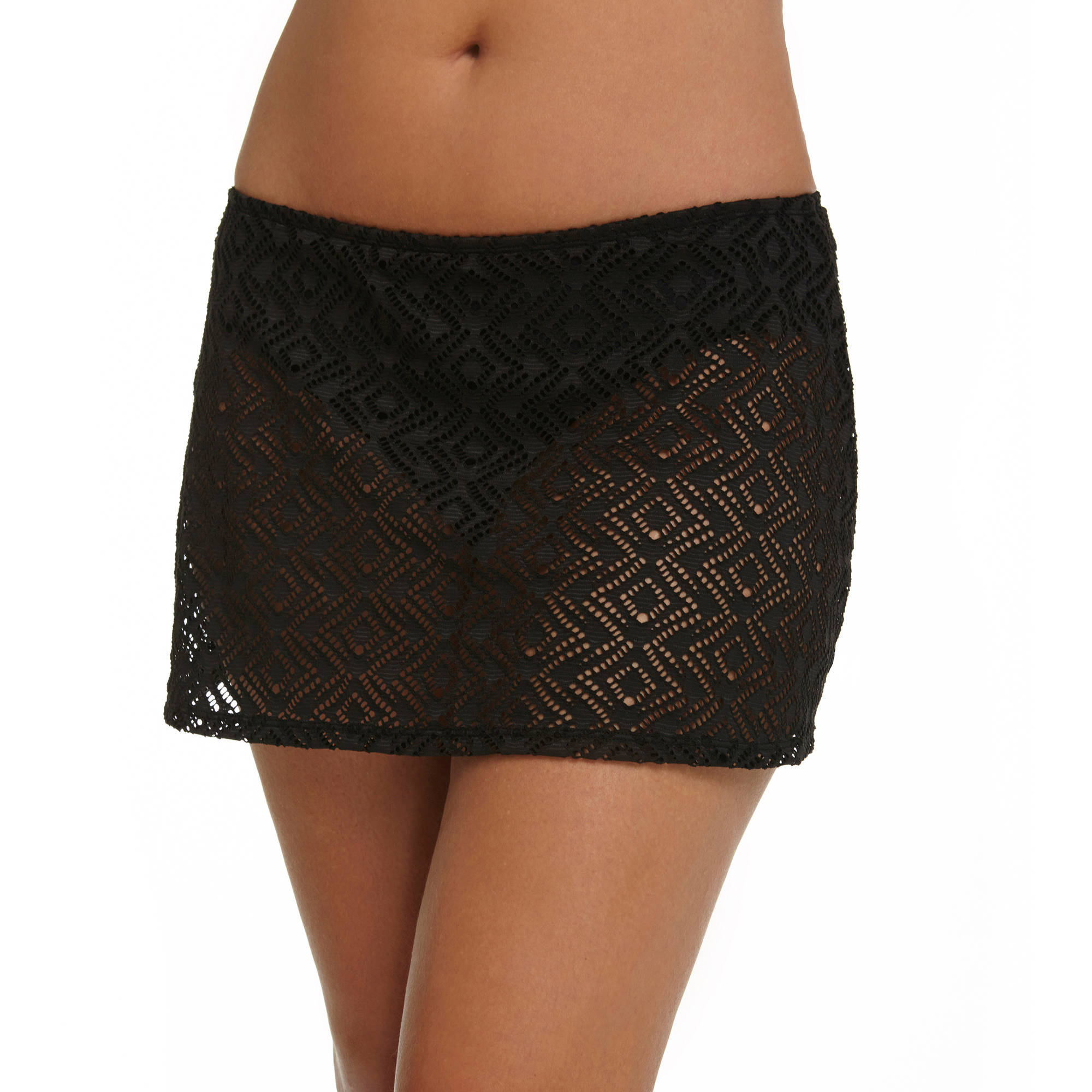 Catalina Women's Crochet Skirted Swimsuit Bottom