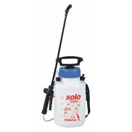 Handheld Sprayer, HDPE Tank Material, 1-21/64 gal., 45 psi Max Sprayer Pressure