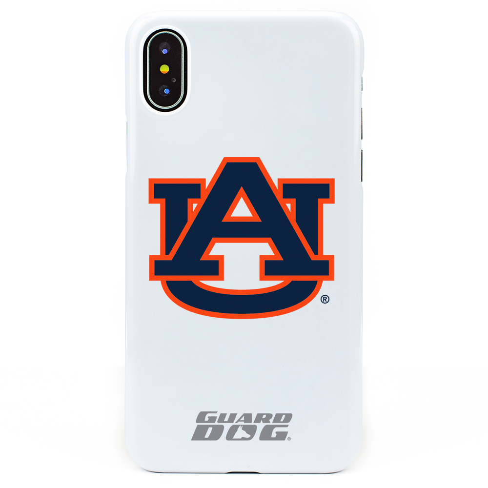 Auburn Tigers Case for iPhone X / Xs - White